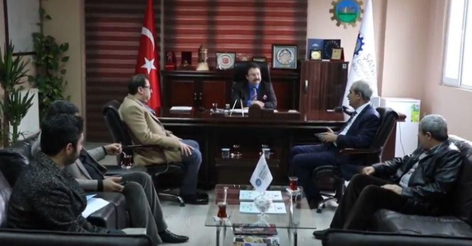 Başkan Demirkol, OSB Müdürü Aksu'yu ziyaret etti