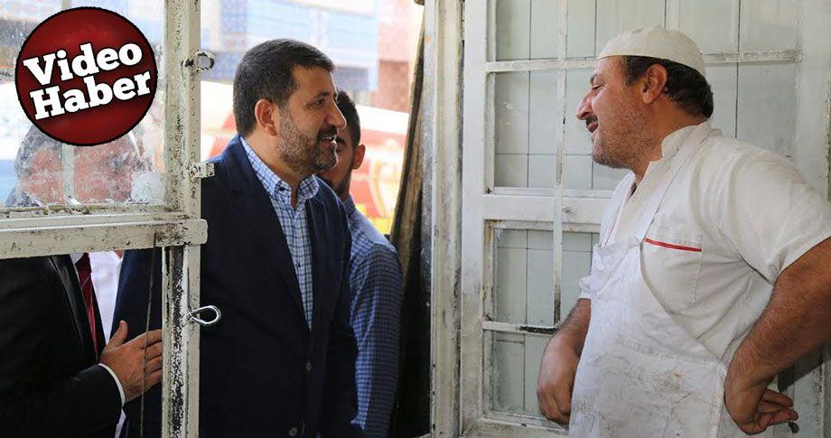 Başkan Ekinci'den esnaf ziyareti