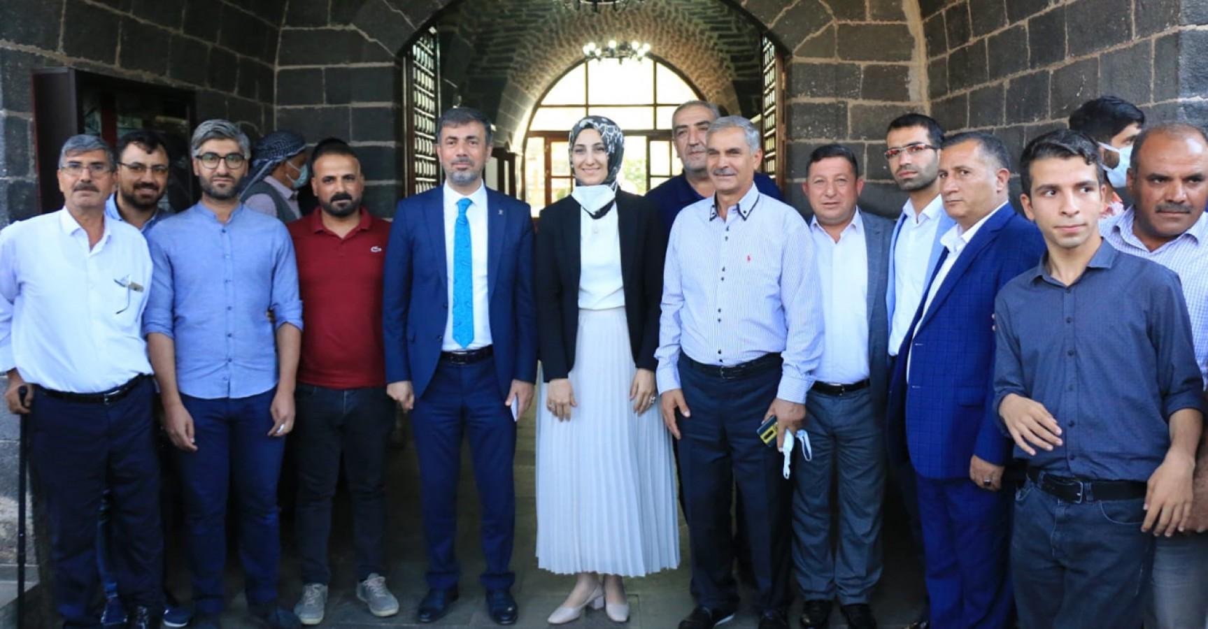 Başkan Kırıkçı, Siverek'te teşkilatla buluştu