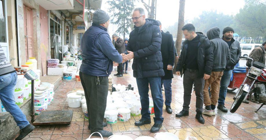 Başkan Kuş'tan Haleplibahçe Mahallesine Semt Pazarı Müjdesi