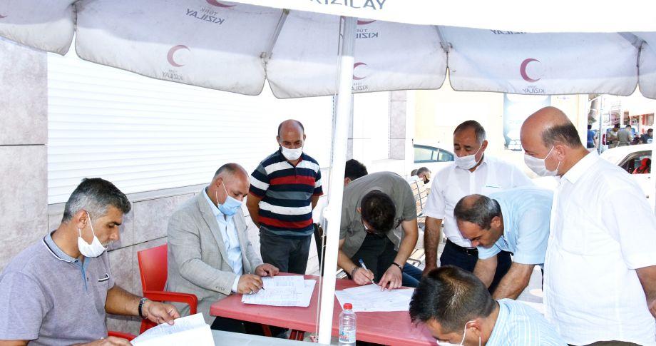 Başkan Soylu'dan kan bağışı