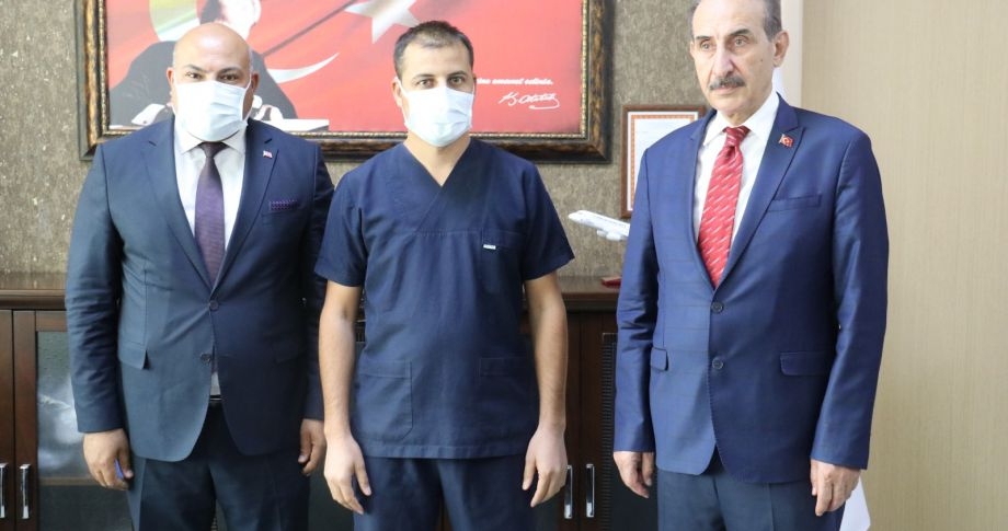 Başkan Yalçınkaya Hastaneyi Ziyaret Etti, Talepleri Yerinde Dİnledi