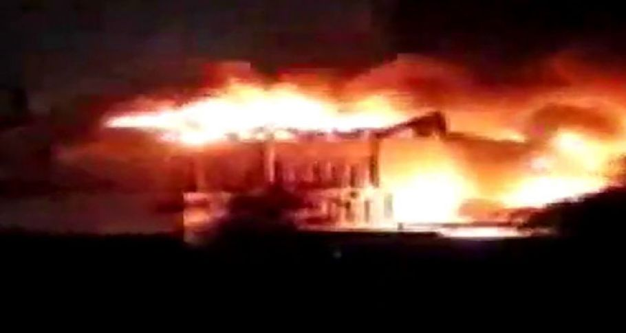 Basra'da protestocular valilik binasını ateşe verdi: 8 ölü