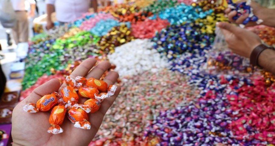 Bayram şekerleri tezgahlardaki yerini aldı