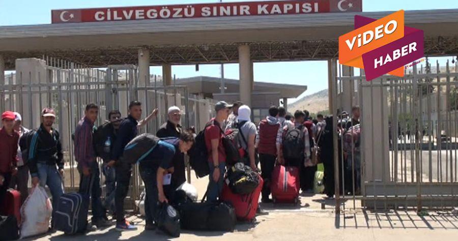 Bayram Tatiline giden Suriyeli sayısı 25 bini geçti