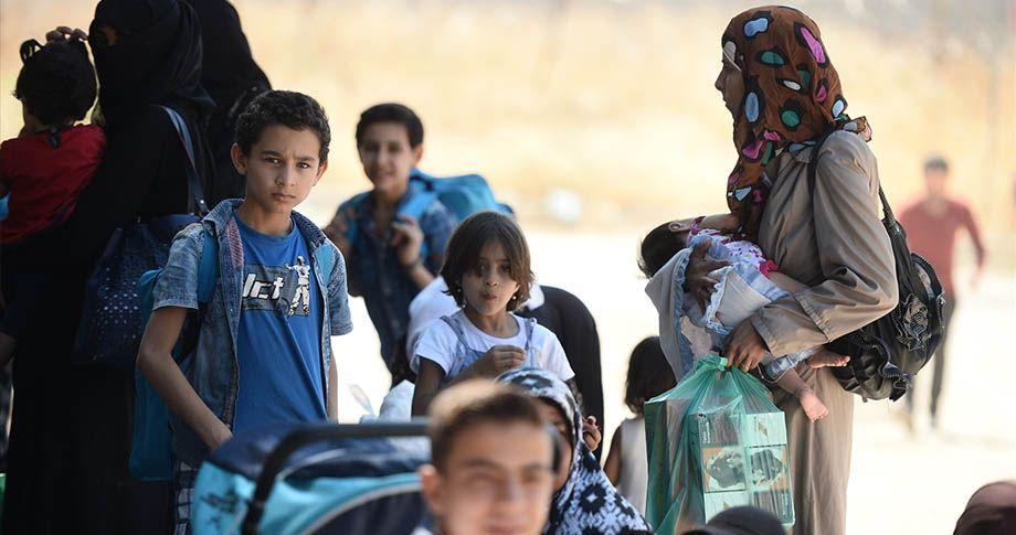 Bayram ziyaretine giden Suriyelier, geri dönüyor