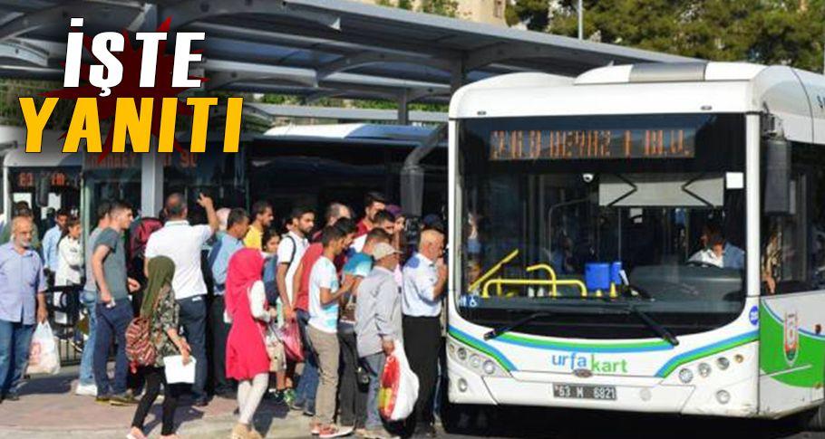Bayramda toplu taşıma ücretsiz mi?