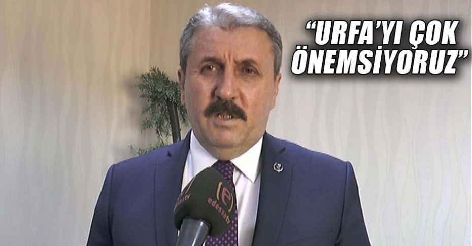 BBP Genel Başkanı Destici'den Edessa Tv mikrofonlarına önemli açıklamalar