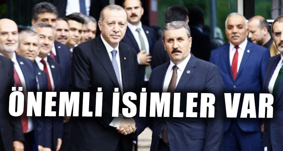 BBP'den AK Parti listesine 18 isim girdi!