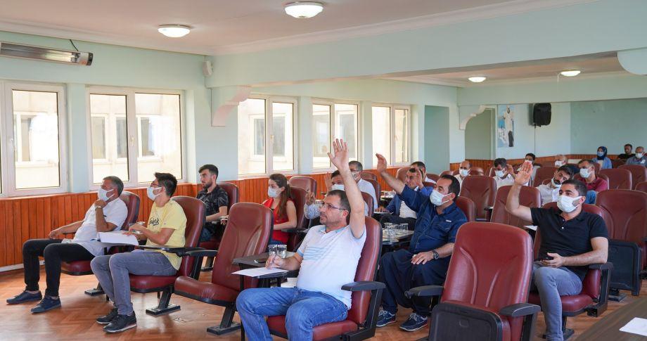 Belediye Ağustos ayı meclis toplantısı tamamlandı