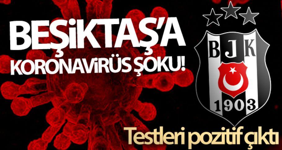 Beşiktaş, 8 kişinin korona virüs testinin pozitif çıktığını açıkladı!