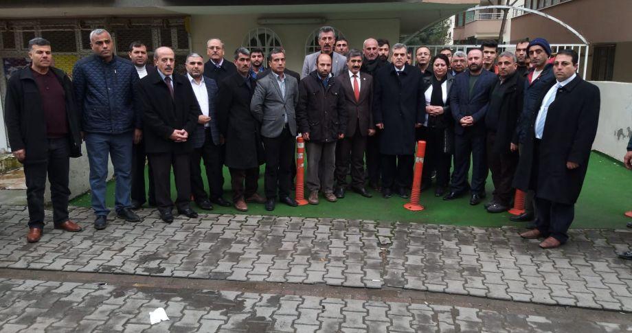 Beyazgül'den HÜR-İŞ Sendikasına Ziyaret