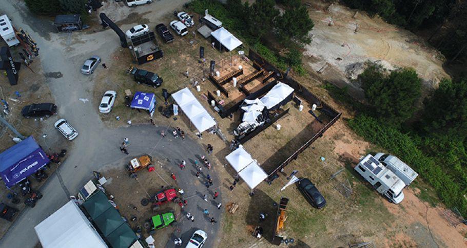 Big Boyz Festivali'nde off road aracı kalabalığın arasına daldı: 6 yaralı