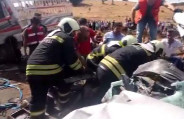 Bingöl'de Katliam Gibi Kaza ! 6 Ölü, 9 Yaralı