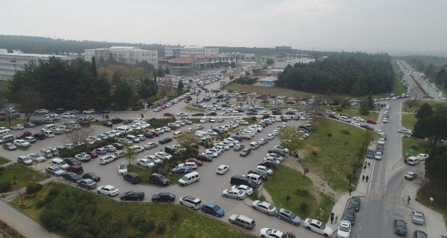 Binlerce öğrenci Milli Savunma Üniversitesine girebilmek için ter döktü