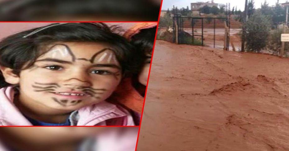 Birecik'te sele kapılan küçük kız hayatını kaybetti
