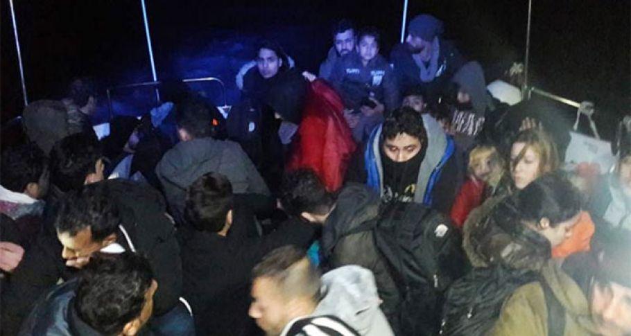 Bodrum'da 42 kaçak yakalandı