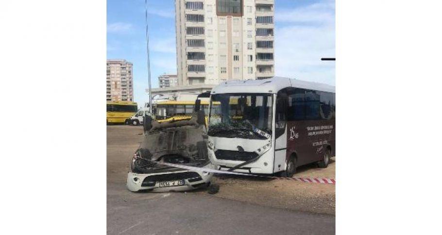 Boş yolda sürat kaza getirdi: 1 yaralı