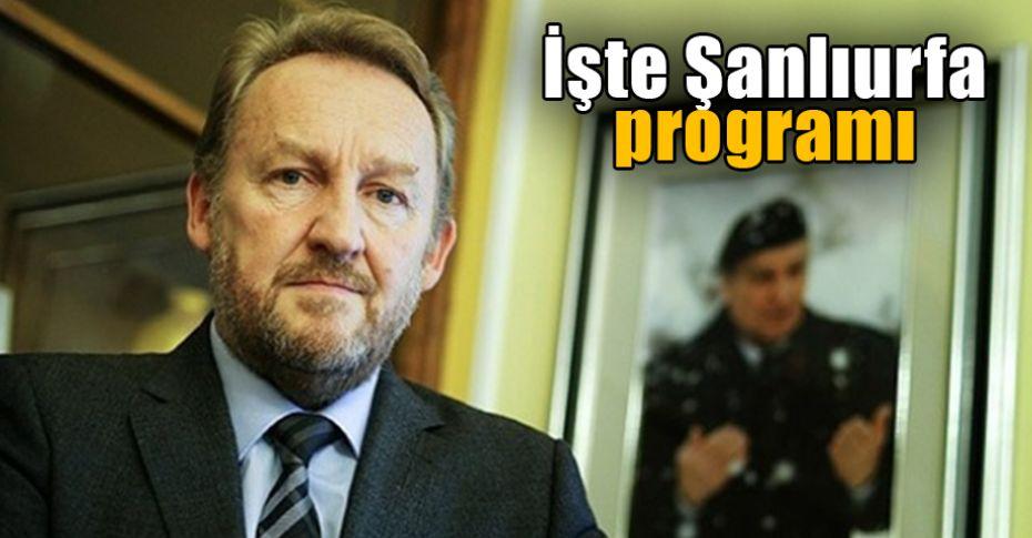 Bosna Herkes Cumhurbaşkanlığı Konseyi üyesi Şanlıurfa'ya geliyor