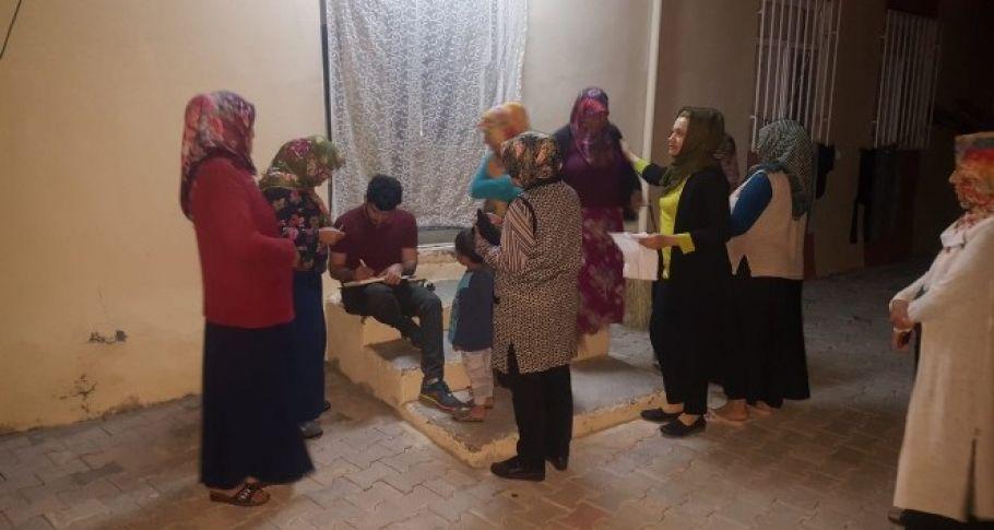 Bozova Belediyesinden 500 aileye Ramazan yardımı