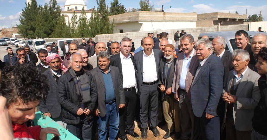 Bozova kırsalından Aksoy'a destek