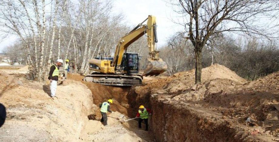 Bozova'da alt yapı yenileme çalışmaları sürüyor