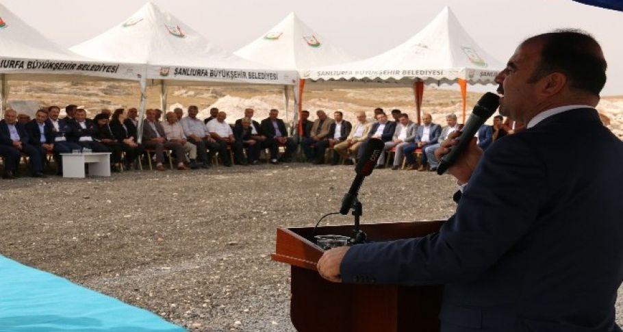 Bozova'da katık atık tesisin temeli atıldı