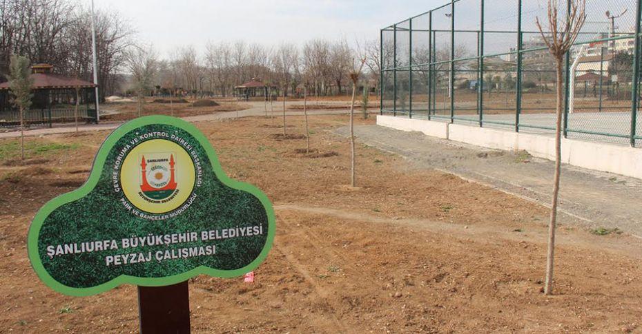 Bozova'da Kent Park yapımı devam ediyor