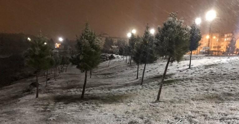 Bu gece Şanlıurfa'ya kar yağması bekleniyor
