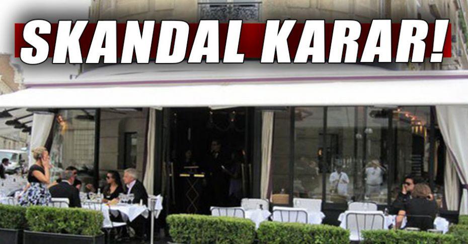 Bu restoranda Araplar ve başörtülülerin girmesi yasak!