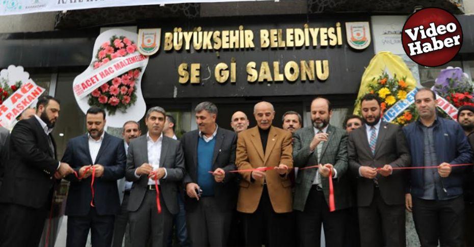 Buğday sapıyla hat işleme sergisi Şanlıurfa'da açıldı