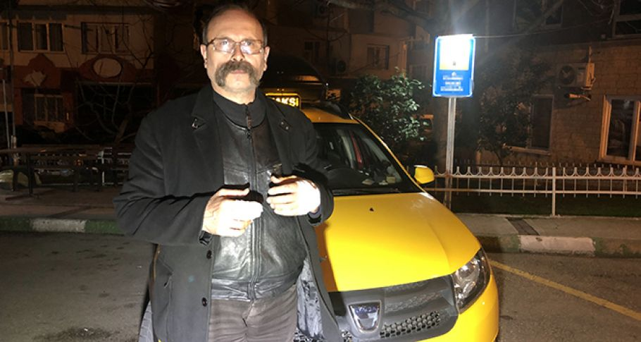 Bursa'da Taksiciyi Gasp Dehşeti