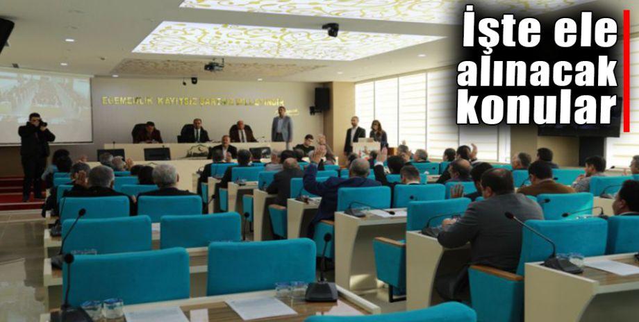 Büyükşehir Belediye Meclisi Pazartesi toplanıyor