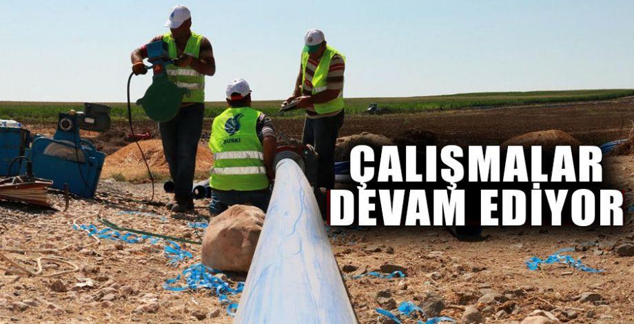 """Büyükşehir: """"Hilvan artık su sorunu ile anılmayacak"""""""