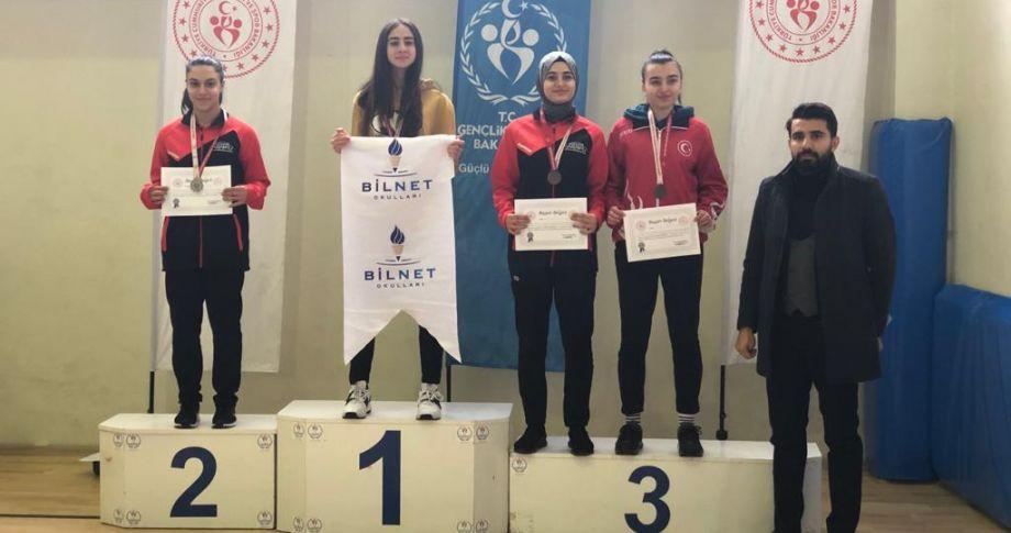 Büyükşehir Sporcuları, Gaziantep'i Birincilik Kürsüsüne Çıkardı