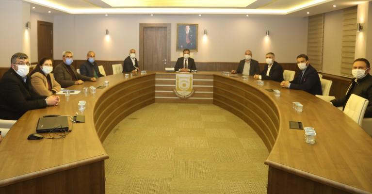 Büyükşehir'de çalışanlar için ilk oturum yapıldı