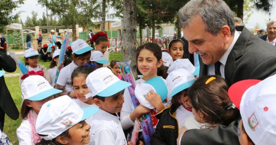 Büyükşehir'den Çocuklara Özel 23 Nisan Şenliği(Video'lu)