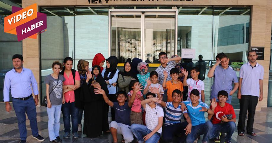 Büyükşehir'den Engellilere müze gezisi