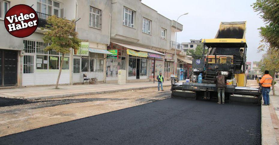 Büyükşehir'den Halfeti'ye prestij caddesi