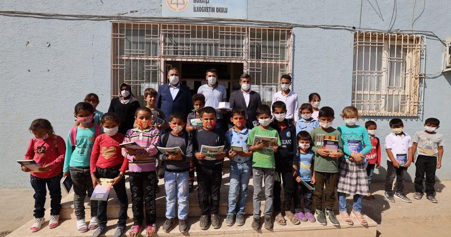 Büyükşehirden köy okullarına eğitim desteği