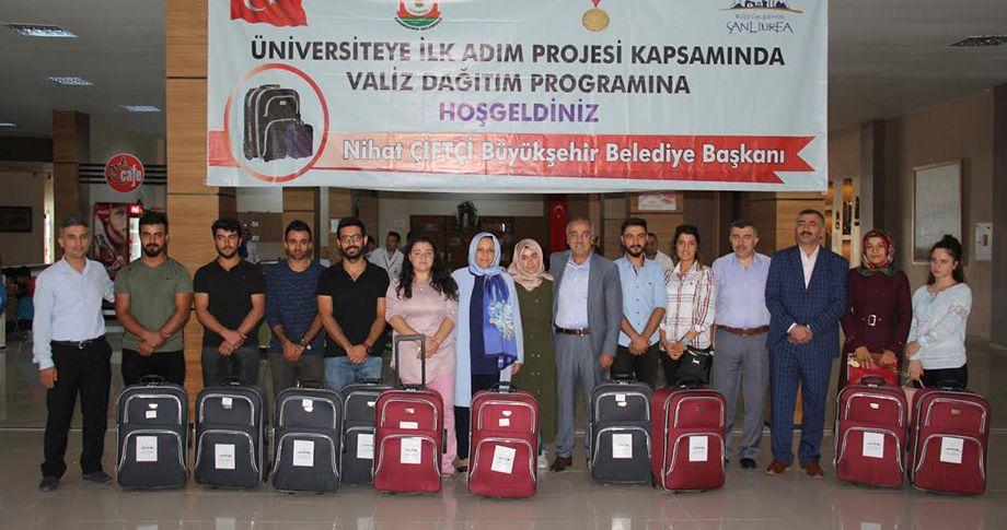 Büyükşehir'den öğrencilere destek