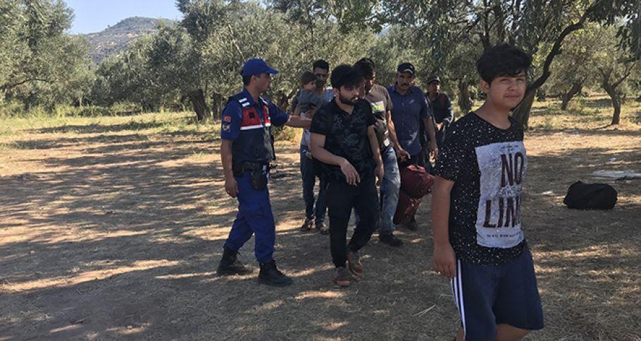 Çanakkale'de 64 kaçak yakalandı