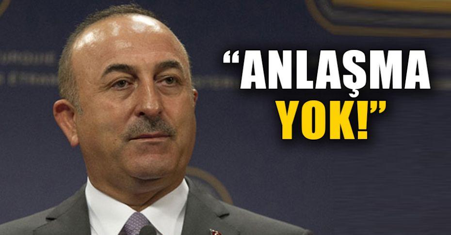 Çavuşoğlu'dan flaş 'Münbiç' açıklaması