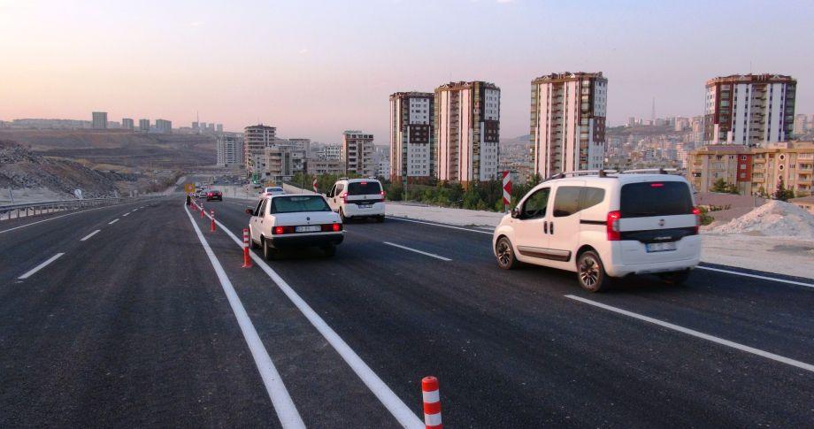 Çevik Kuvvet Köprülü Kavşağı Trafiğe Açıldı