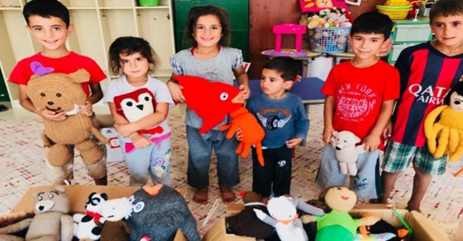 Ceylanpınar Damlacık köy okulu'na bağış yapıldı