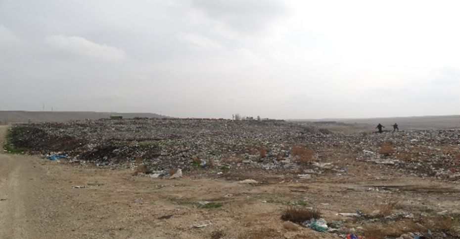 Ceylanpınar'da çöp tepesine çözüm aranıyor