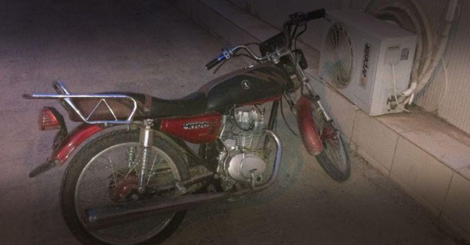 Ceylanpınar'da durdurulan motosikletlinin üzerinden uyuşturucu madde çıktı