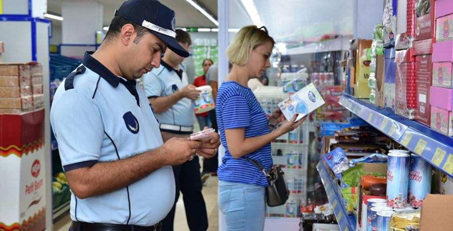 Ceylanpınar'da fiyat etiketi denetimi