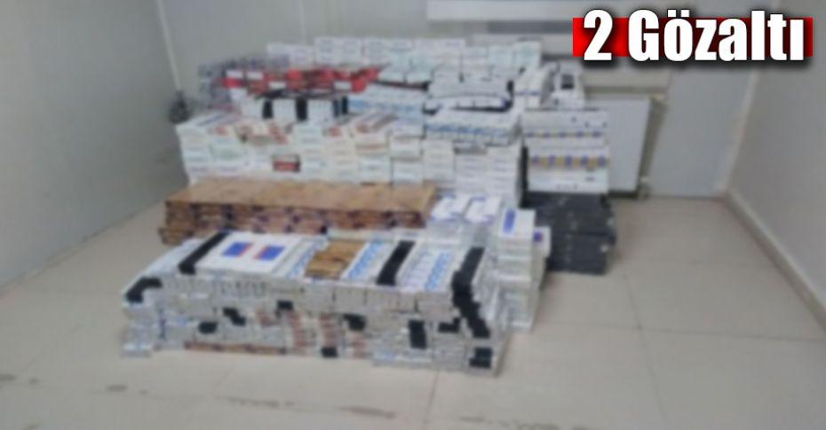 Ceylanpınar'da kaçak sigara operasyonu!