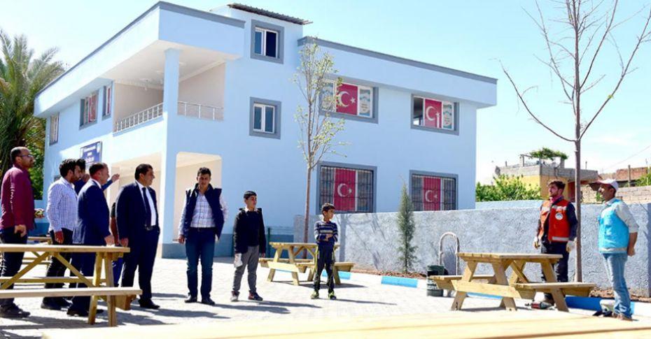 Ceylanpınar'da kültür evi yapımı tamamlandı